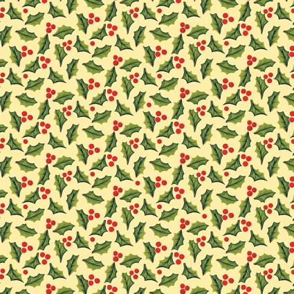 A Quilter's Christmas Holly Cream
