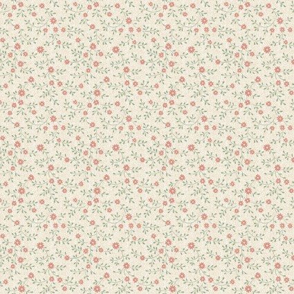 Cream Fleurette 6715-07