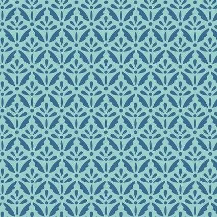 Home Grown Floret Blue Green
