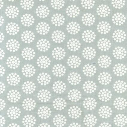 Tea Towel grey dot