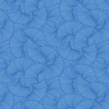Fanfare Blue Peacock Flourish