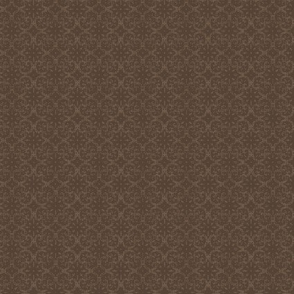 Benartex Modern Lodge 6968-77 Small Brown Medallion