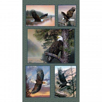 Soaring Heights : 24 Multi Eagle Panel - #6987-99 - Danny O'Driscoll (416)