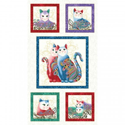 Cat-I-Tude II PurrFect Together Panel