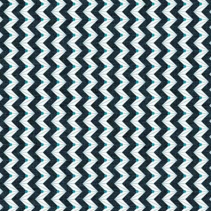 Celestial Lights- Z Stripe Navy