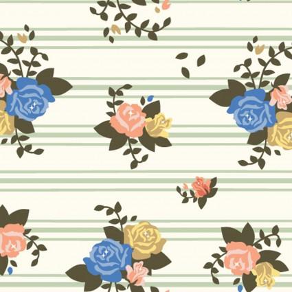 Rosette Stripes: Pirouette