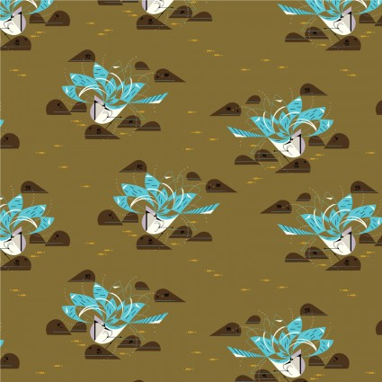 Charley Harper Summer Bluejay Bath