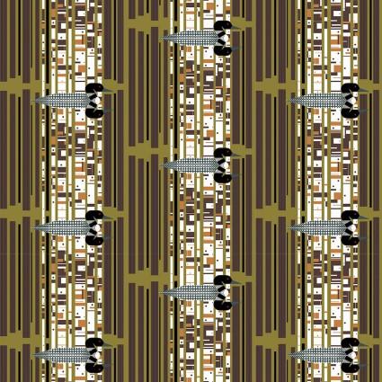 Charley Harper - Loonscape - Organic Cotton Poplin - BIFCH-136