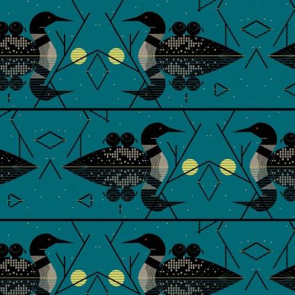 Charley Harper Lakehouse Volume 1 Clair de Loon