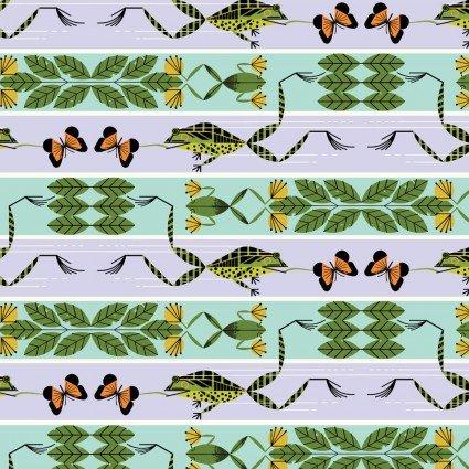 Charley Harper Summer Vol Flying Frog