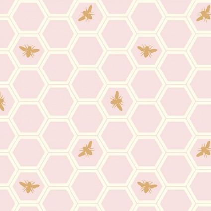 Mod Nouveau Honeycomb Blush