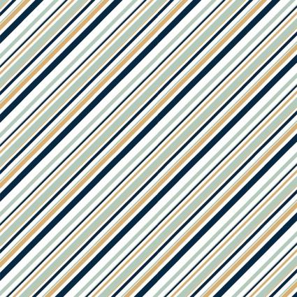 Mod Nouveau Stripe in Mint