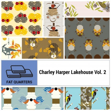 Lakehouse Vol. 2 FQB (Charley Harper) 8 pcs