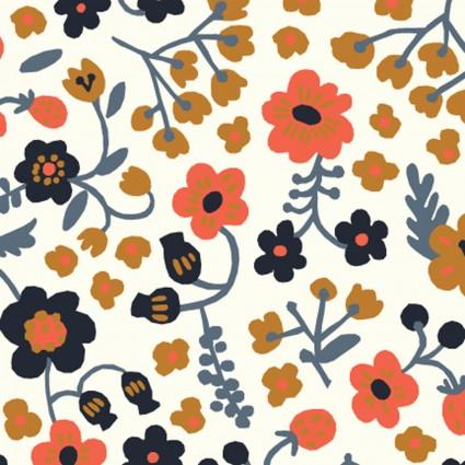 Bella Margot Cream - Bella Cotton Lawn - Birch