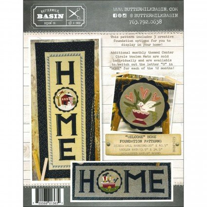 Welcome Home Wall Hanging - Center Circle