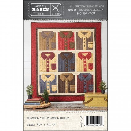 Channel the Flannel Quilt Kit,