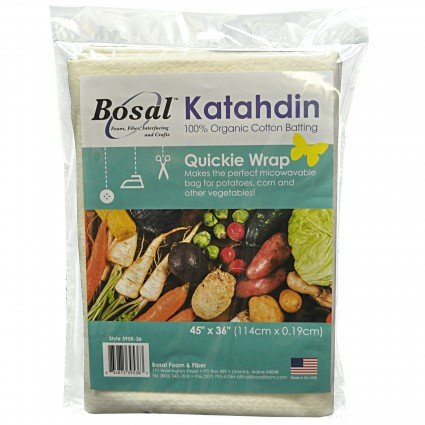 Katahdin Quickie Wrap - 100% Organic Cotton Batting