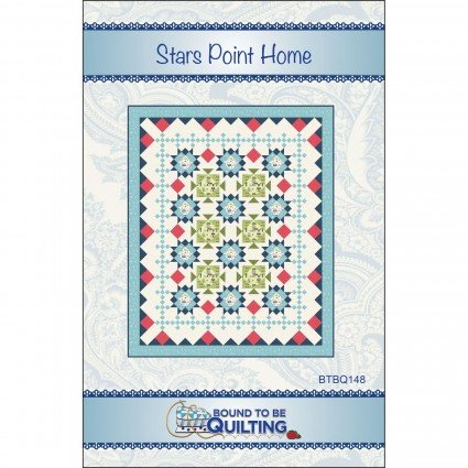 Stars Point Home Quilt Kit Make Yourself at Home