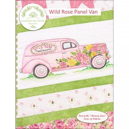 CAH #2218 - Memory Lane - Wild Rose Panel Van