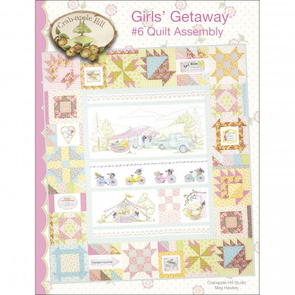 GIRLS' GETAWAY #6 QUILT ASSEMBLY - CRABAPPLE HILL STUDIO