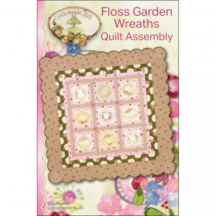 Floss Garden Wreaths Full Set # CAH2580