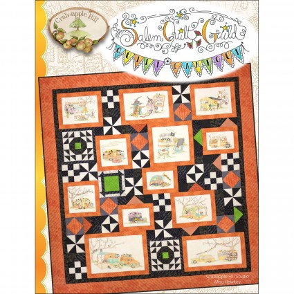 Salem Quilt Guilds Quilt Campout Pattern Set by Meg Hawkey for Crabapple Hill Studio