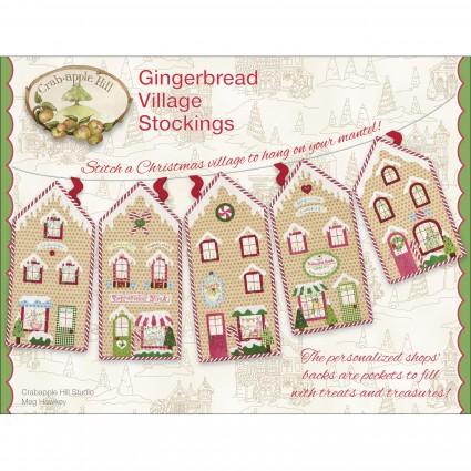 Gingerbread Village Stockings
