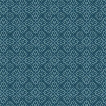 Turtle Cove - Tonal Tiling Blue
