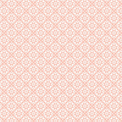 Turtle Cove - Tonal Tiling Peach