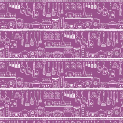 Family Recipes- Pantry Purple