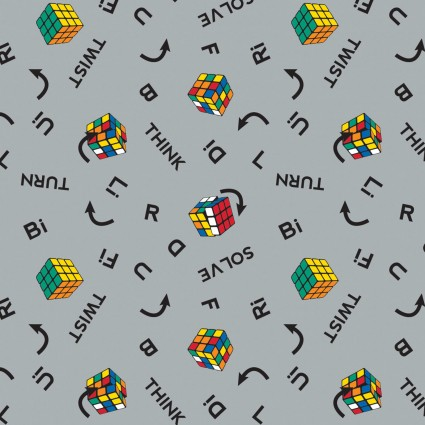 I Love Rubik's Collection - Twist & Turn - Grey