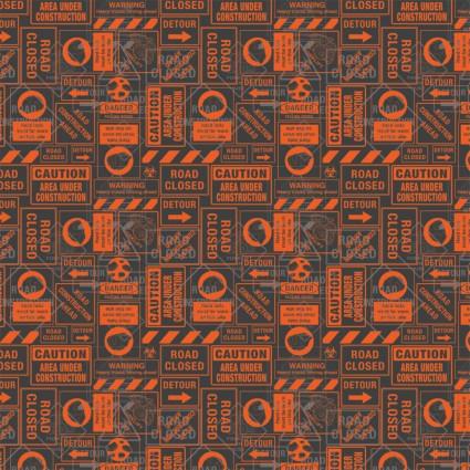 Camelot - Tonka Collection - 95060106-2- Tonka Road Signs - Orange