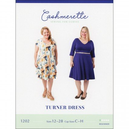 Turner Dress - Cashmerette Printed Pattern