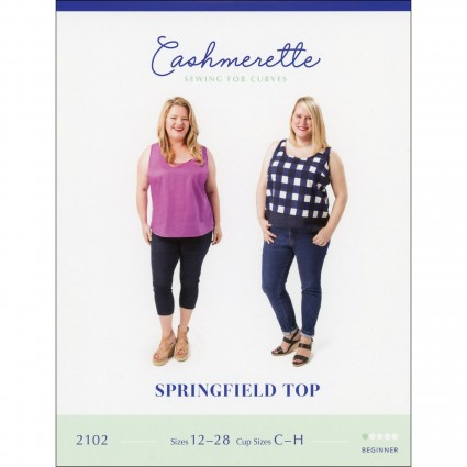Springfield Top - Cashmerette Printed Pattern