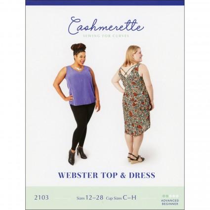 Webster Top & Dress - Cashmerette Printed Pattern