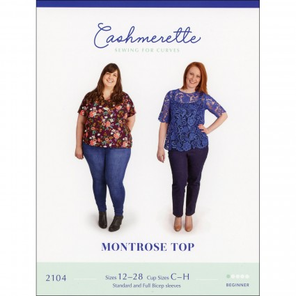 Concord T-Shirt - Cashmerette Printed Pattern