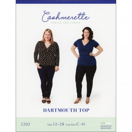 Dartmouth Top - Cashmerette Printed Pattern