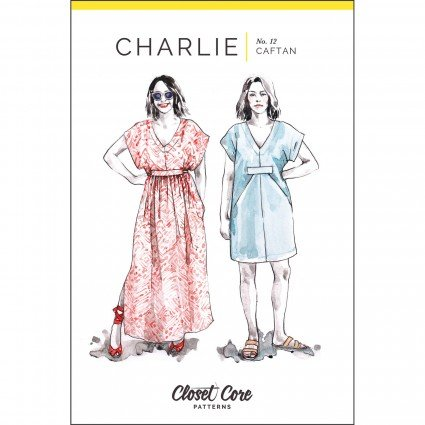 Closet Case Files Charlie Caftan Pattern