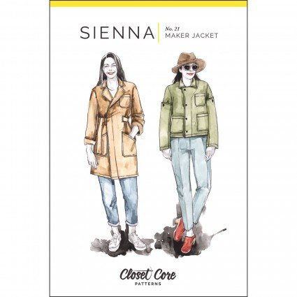 Closet Case Files Sienna Maker Jacket Paper Pattern