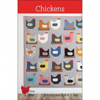 Cluck Cluck Sew Chickens Pattern