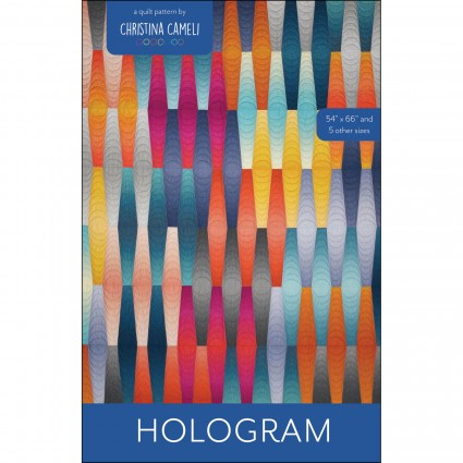 Hologram Throw Quilt Kit by Christina Cameli 54 X 66 Moongate