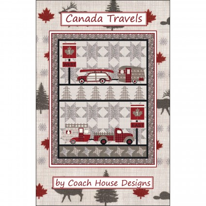 Canada Travels Pattern