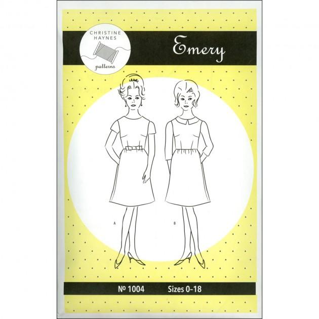 Christine Haynes - Emery Dress Printed Pattern