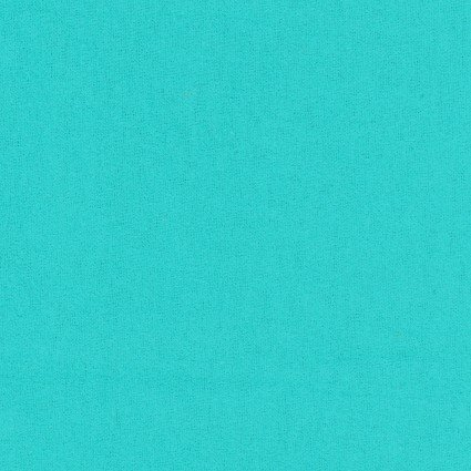FLANNEL SOLIDS TURQUOISE