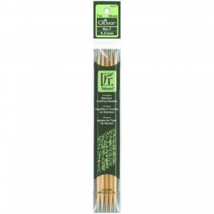7 Bamboo Knitting Needles  #7