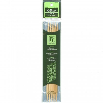 7 Bamboo Knitting Needles #8