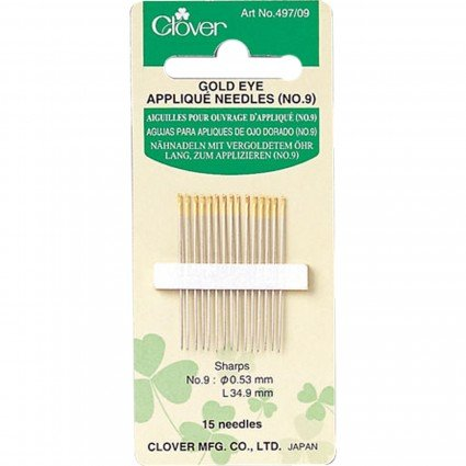 Gold Eye Appliqué Needles