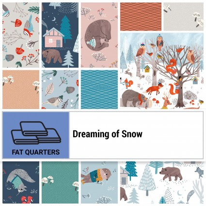 Dreaming of Snow FQ Bundle