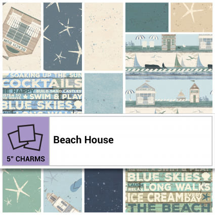 Beach House -  5 Charm Pack