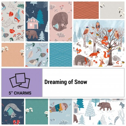 Dreaming of Snow (42) 5 Squares